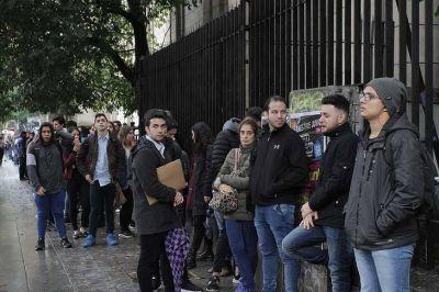 Antes de la pandemia la Ciudad ya tenía el desempleo más alto desde 2014