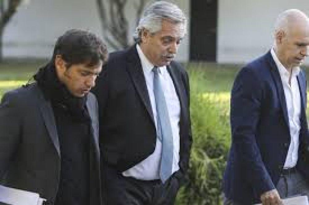 Coronavirus en Argentina: Alberto Fernández y Axel Kicillof presionan a Larreta para que endurezca la cuarentena