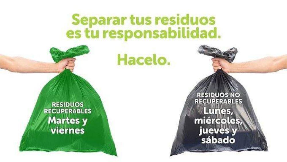 Los marplatenses cumplen cada vez menos con la separación de residuos