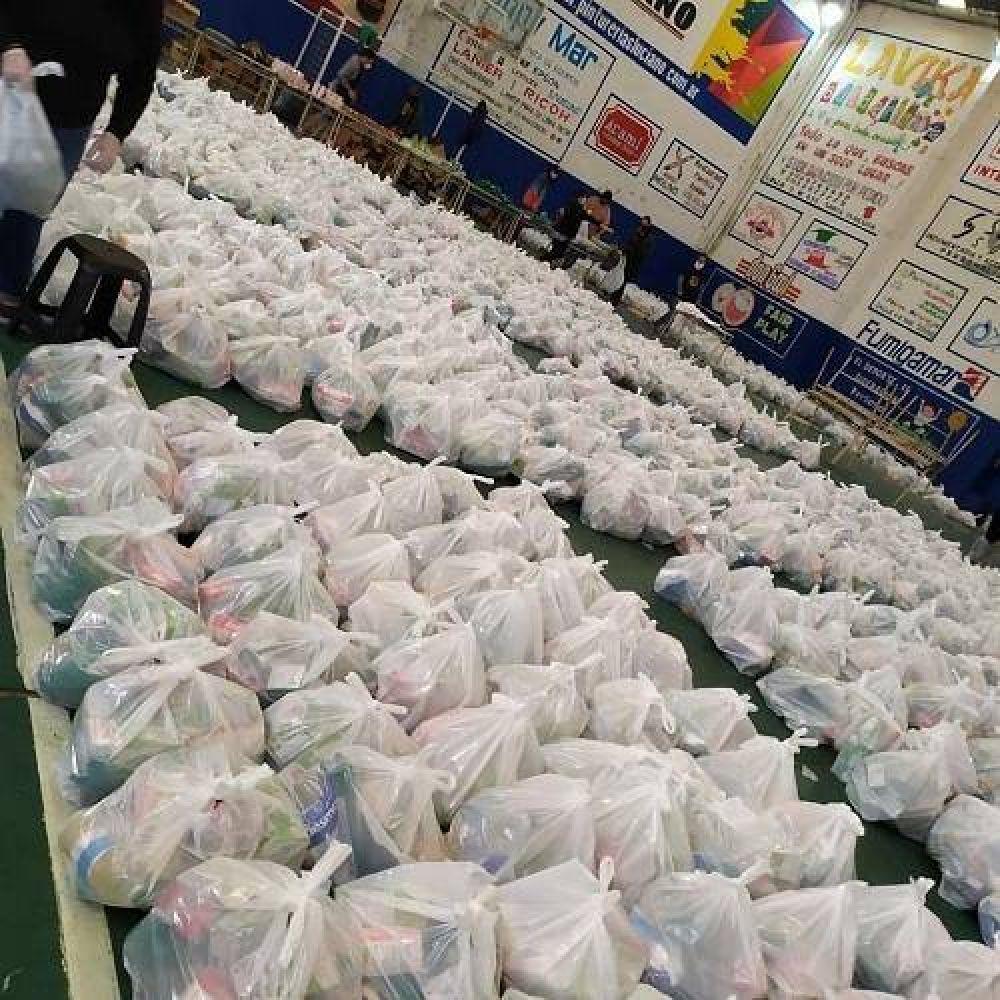 Continúa en La Costa el operativo para brindar el servicio alimentario escolar