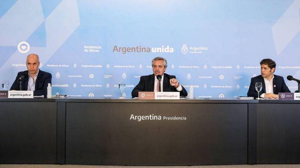 Se tensa la administración de la cuarentena en el área metropolitana y Rodríguez Larreta busca mantener sus planes sin confrontar