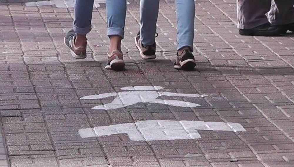 Berazategui: veredas con sentido único de circulación en el casco céntrico