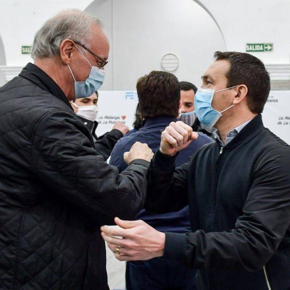 Watson participó de encuentro de jefes comunales con los ministros Larroque y Gollan