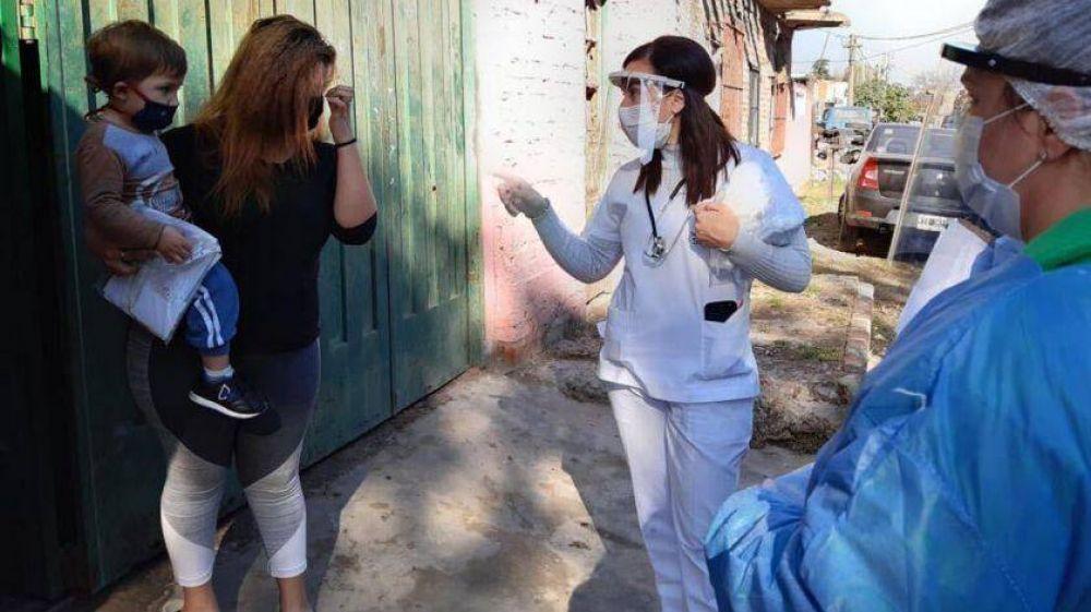 Lomas de Zamora y Lanús, municipios con más ritmo de contagio