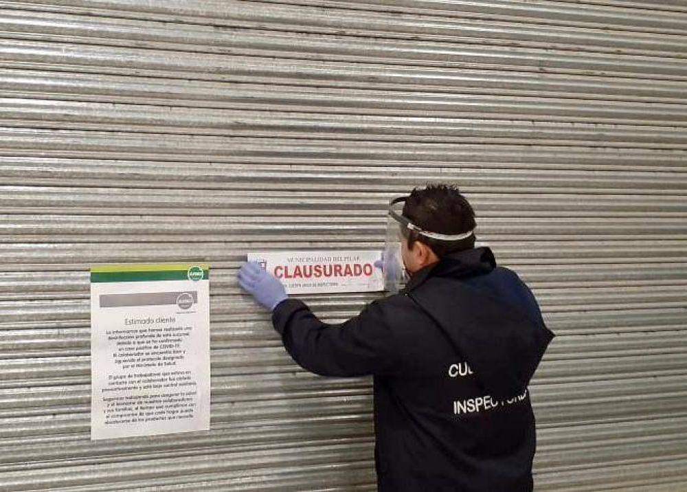 Pilar: el Municipio podría multar al hipermercado Jumbo por incumplir los protocolos contra el COVID