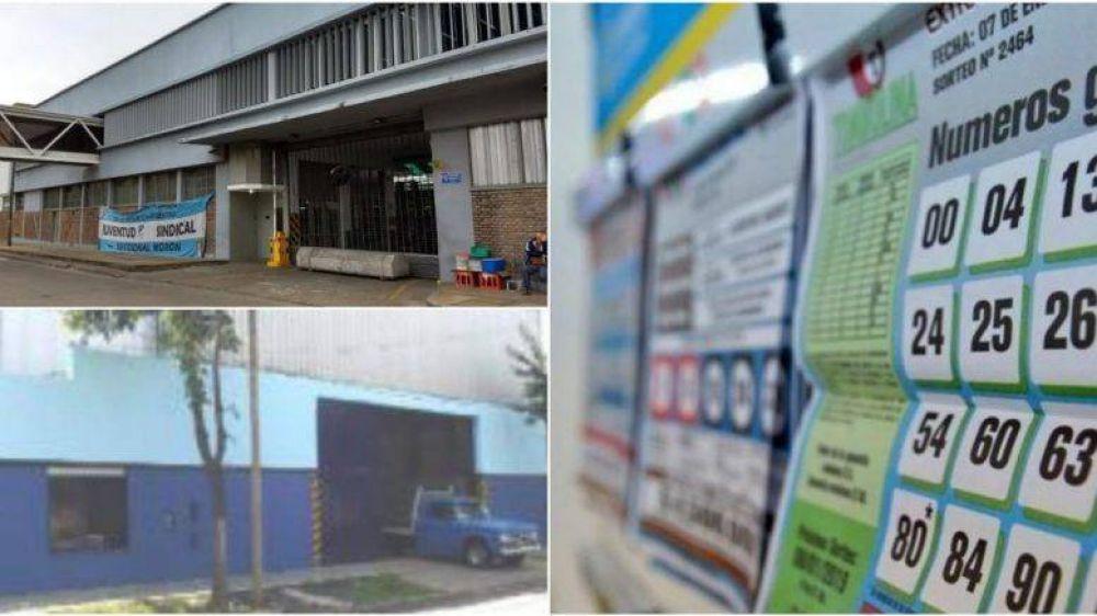 Merlo: agencias de lotería y metalúrgicas habilitadas