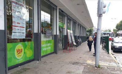 Coronavirus: tres casos positivos en el supermercado VEA de Merlo