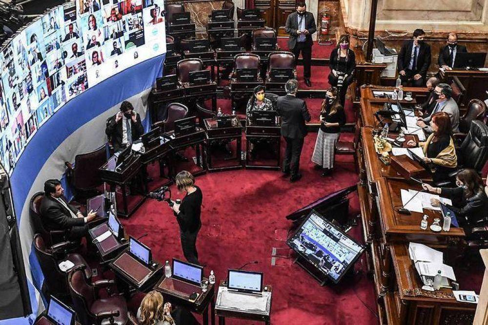Con la ausencia de la oposición, el Senado aprobó la nueva ley de alquileres