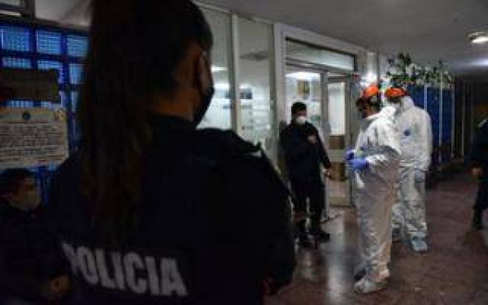Confirman 3 casos positivos de coronavirus en Comisaría de La Plata