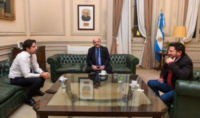 Fernando Tauber se reunió con el ministro de Educación, Nicolás Trotta