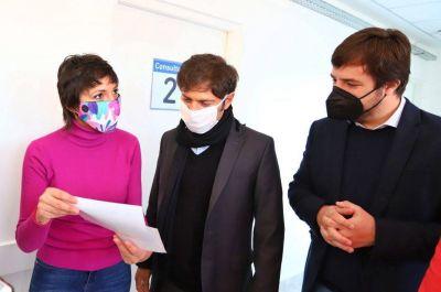 Axel Kicillof junto a Mayra Mendoza inauguraron un Centro de Atención Primaria en San Francisco Solano