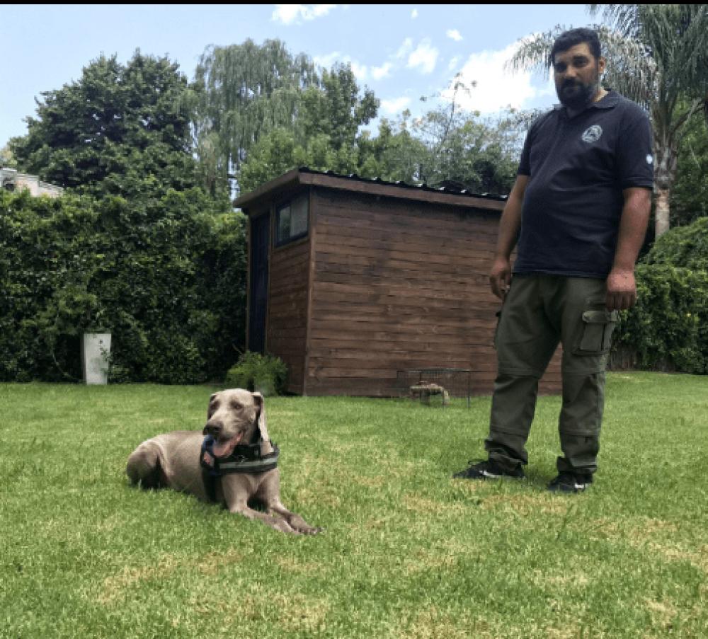 Femicidio de Anahí Benítez: el instructor del can Bruno denunció que recibió amenazas tras el fallo