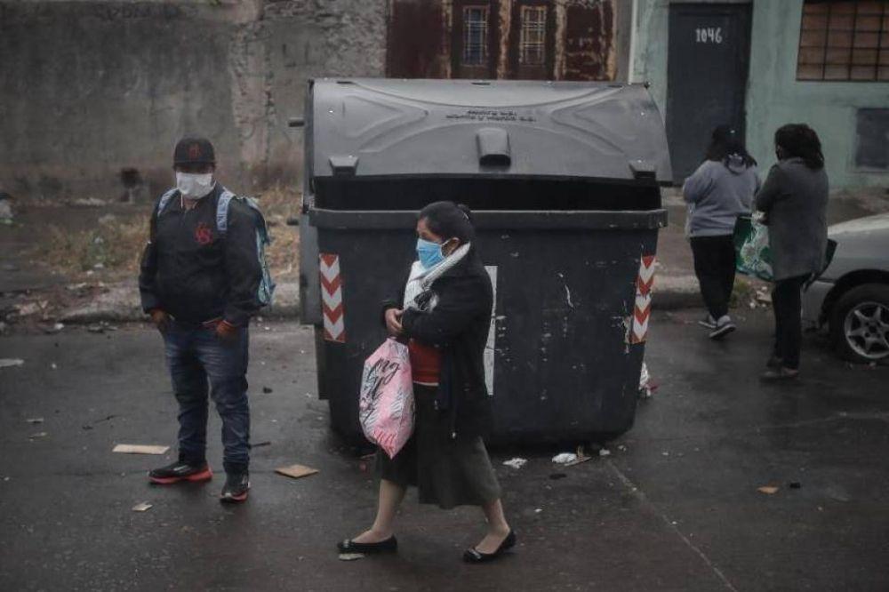 Coronavirus: aumento de casos en La Boca y ausencia del Gobierno porteño