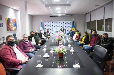 El Consejo del PJ de Moreno brindó su apoyo a Mariel Fernández