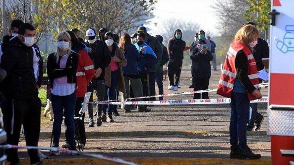 Tigre: el barrio San Jorge de Don Torcuato sumó 16 casos de coronavirus y llegó a los 110
