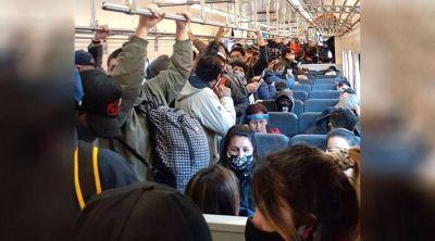 """Trenes abarrotados: """"La responsabilidad no es del trabajador, sino de la empresa"""""""