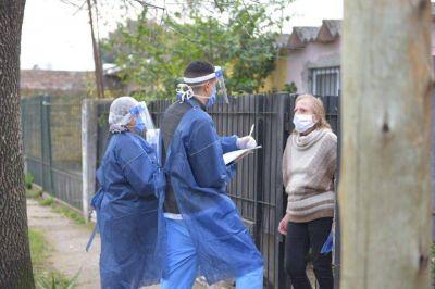 Se llevó adelante un operativo de búsqueda de casos de Coronavirus en el Barrio Villa Evita de Ituzaingó