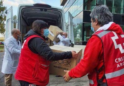 La Cruz Roja donó insumos al Hospital Posadas