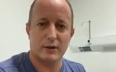 Insaurralde, positivo de coronavirus: Está internado en el Hospital de Llavallol y Kicillof le deseó