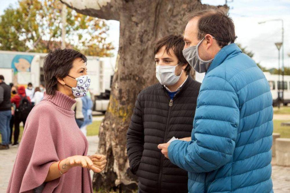 Quilmes: la peatonal llena de gente que motivó el dramático pedido de Mayra para frenar los contagios de Covid-19