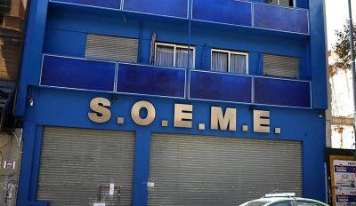 Triste final para las autoridades ilegales del Soeme: impidieron el acceso del interventor