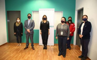 Galmarini se reunió con las nuevas autoridades de Intercargo para compartir protocolos de paridad de género