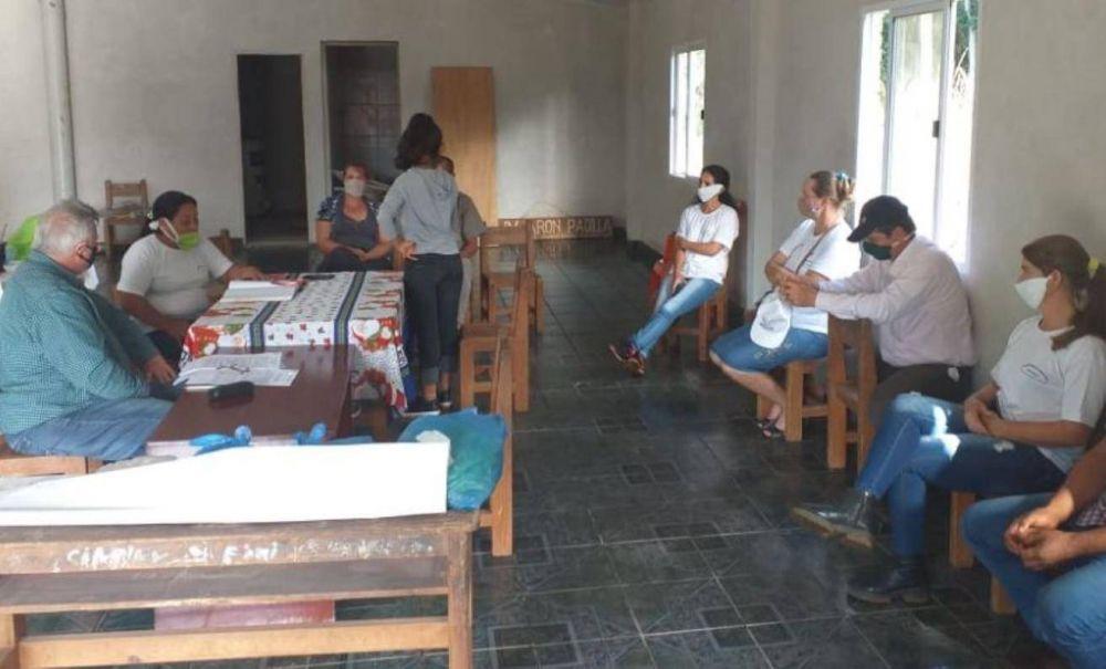 San Pedro: firman convenio para construcción de viviendas rurales