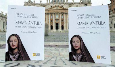 Con prólogo de Zamora, la editorial del Vaticano publicó el libro sobre Mama Antula en italiano
