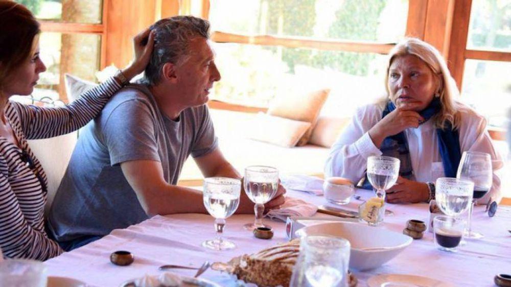 Macri reapareció con Lilita y denunció