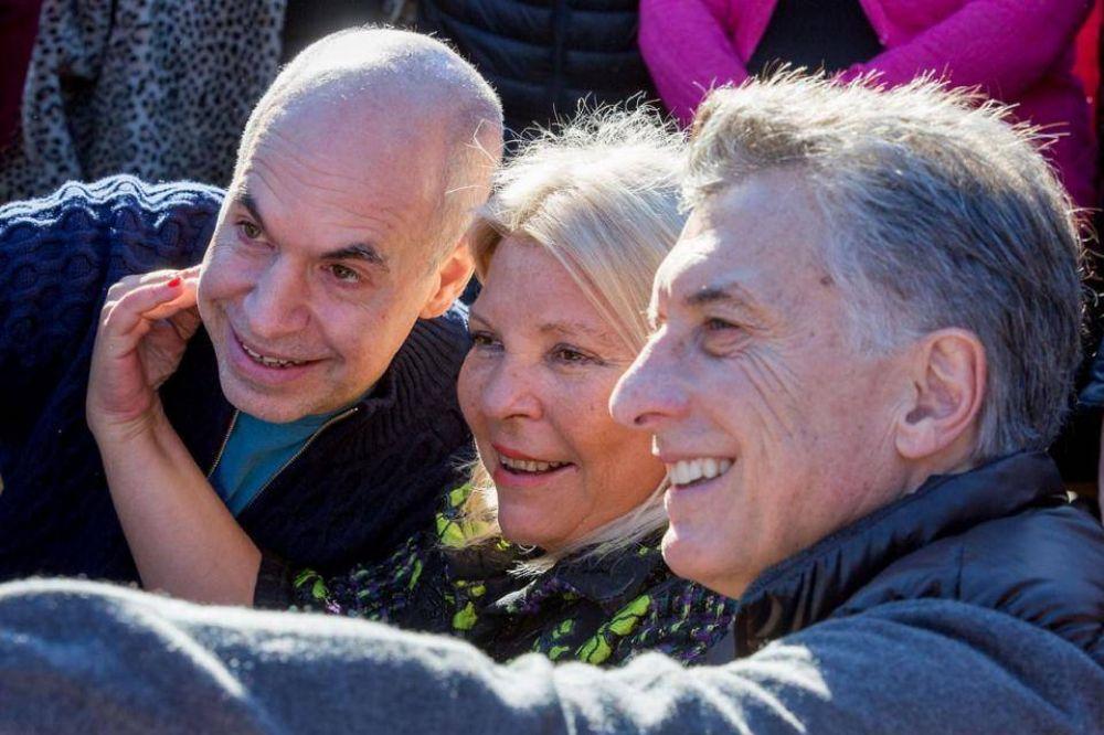 Vicentin y espionaje ilegal: los detalles de la charla entre Macri, Carrió y Larreta