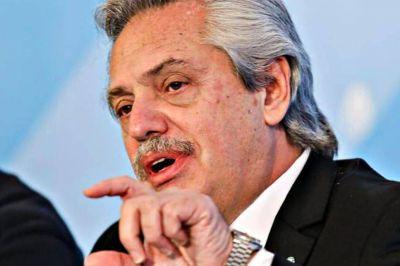 Alberto Fernández aludió a un comunicado que nunca existió