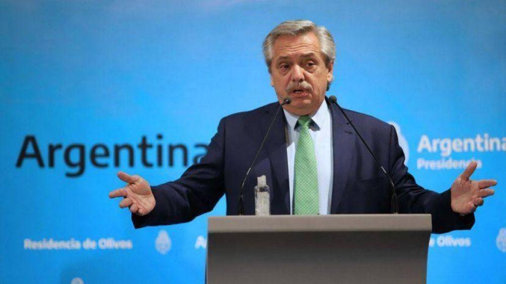 Deuda: Alberto reitera que no quiere default y perfila otra extensión semanal
