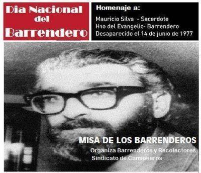Mauricio Silva, el sacerdote barrendero asesinado por el cual se conmemora el 14 de junio como el Día Nacional del Barrendero
