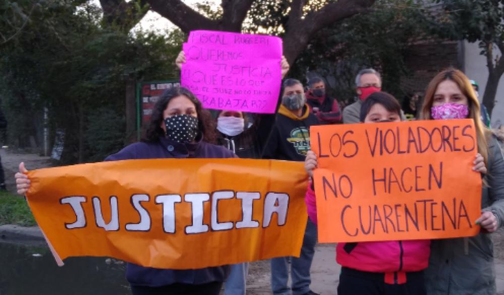 Vecinas de varios barrios de Florencio Varela piden justicia y detención de los violadores que las asechan