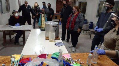La Pastoral Social de Lomas de Zamora en plena movida solidaria