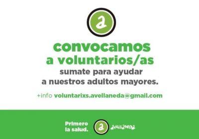 Suman voluntarios al programa de contención para adultos mayores de Avellaneda