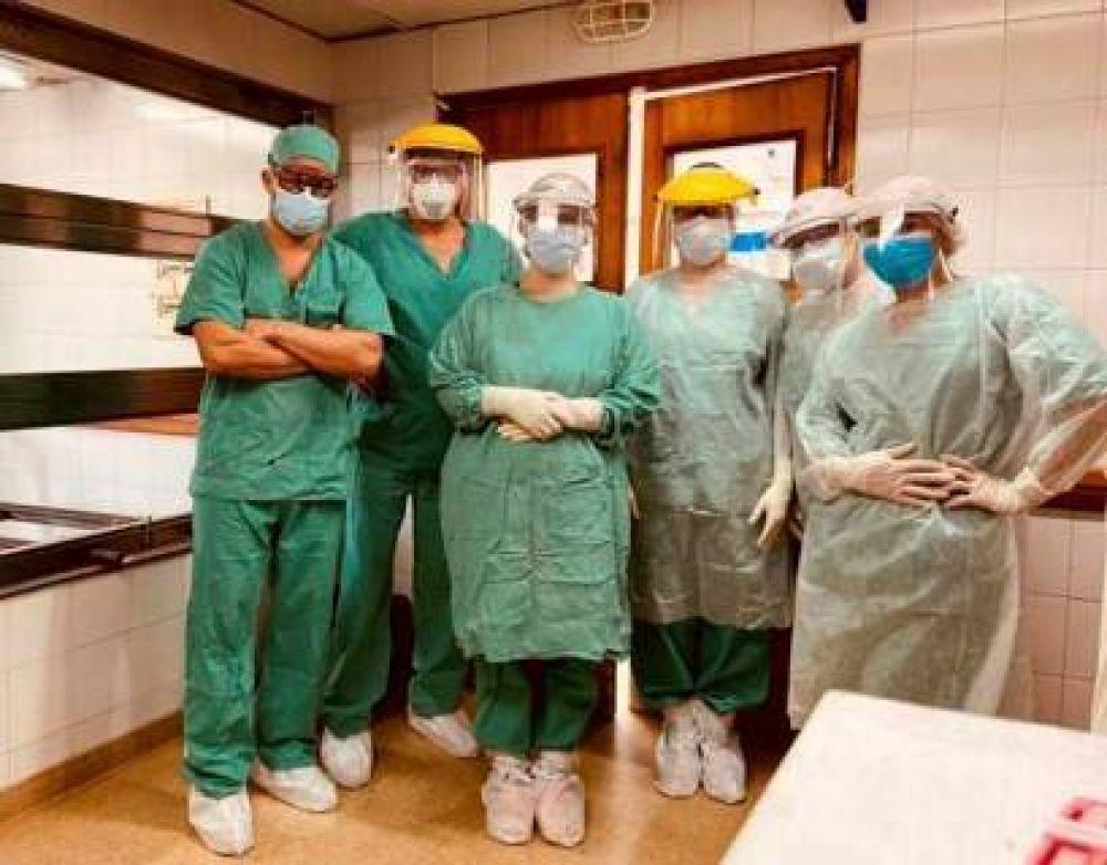 En el Hospital Municipal de Mar de Ajó se realizó con éxito una compleja cirugía a un paciente con cáncer de páncreas