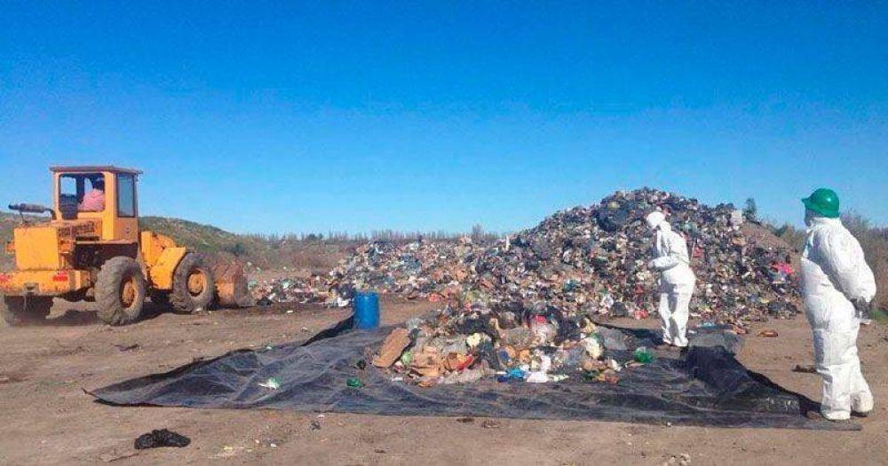 Avanza el proyecto de Gestión de Residuos Sólidos Urbanos en el Valle Medio