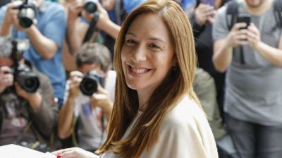 La exgobernadora María Eugenia Vidal dio positivo por coronavirus