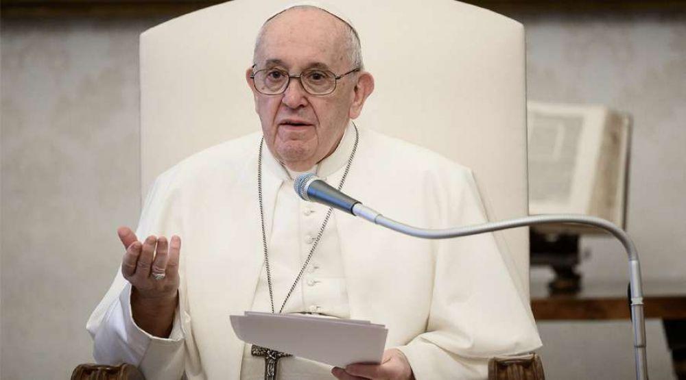 Papa Francisco exhorta a que la libertad de conciencia sea respetada siempre