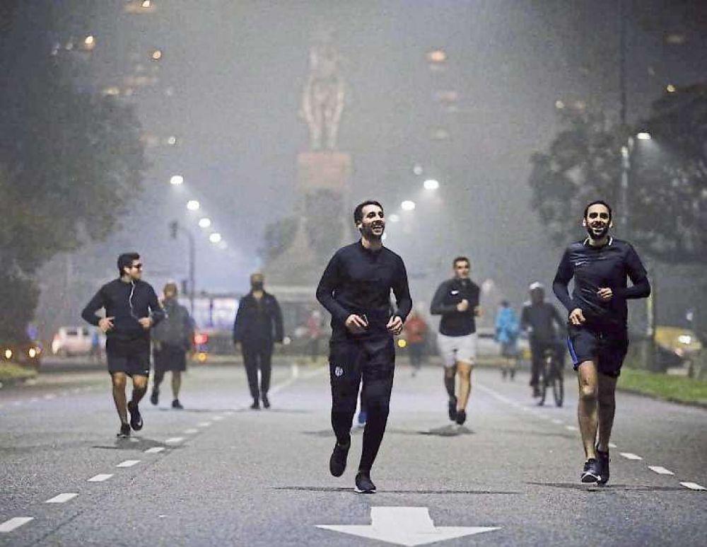 DNI, sentido de circulación y vallados: cuáles son los cambios que podría sufrir el permiso de running en la ciudad