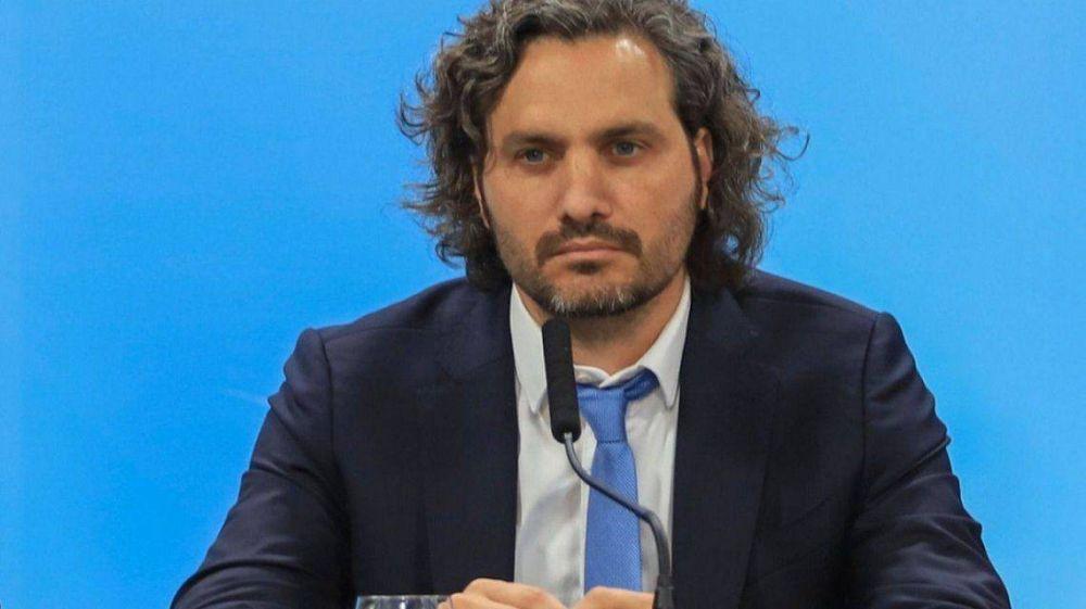 Santiago Cafiero presentará su primer informe ante el Senado