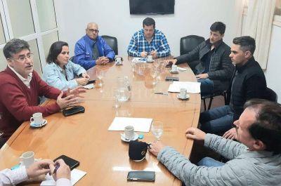 Recolección de residuos: concejales se reunieron con el Sindicato de Camioneros