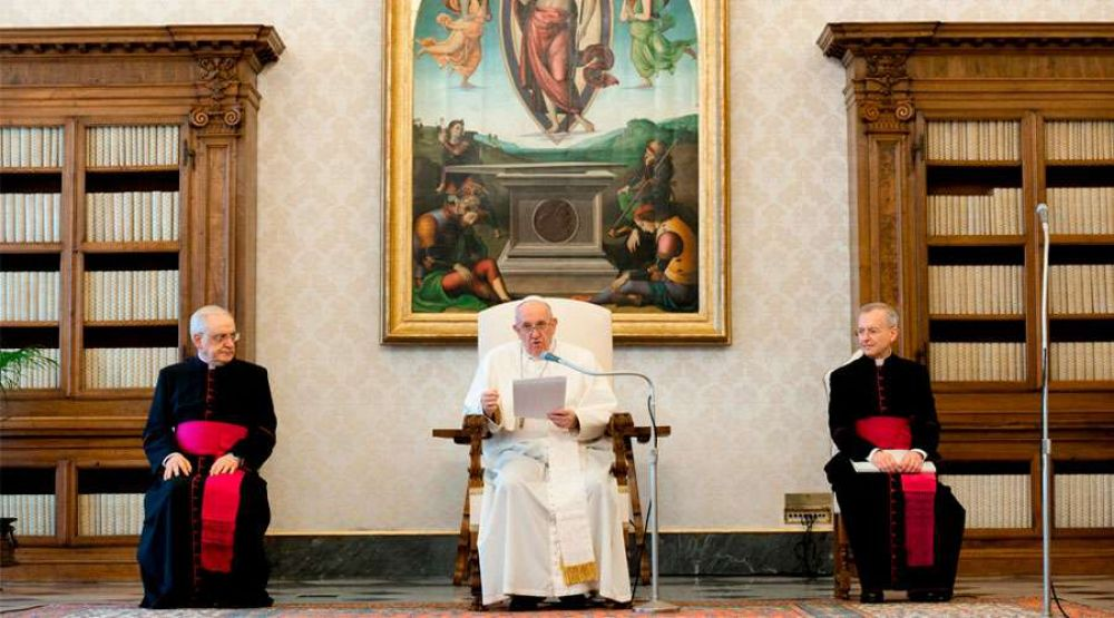 Papa Francisco: Moisés fue el más grande profeta de Jesús