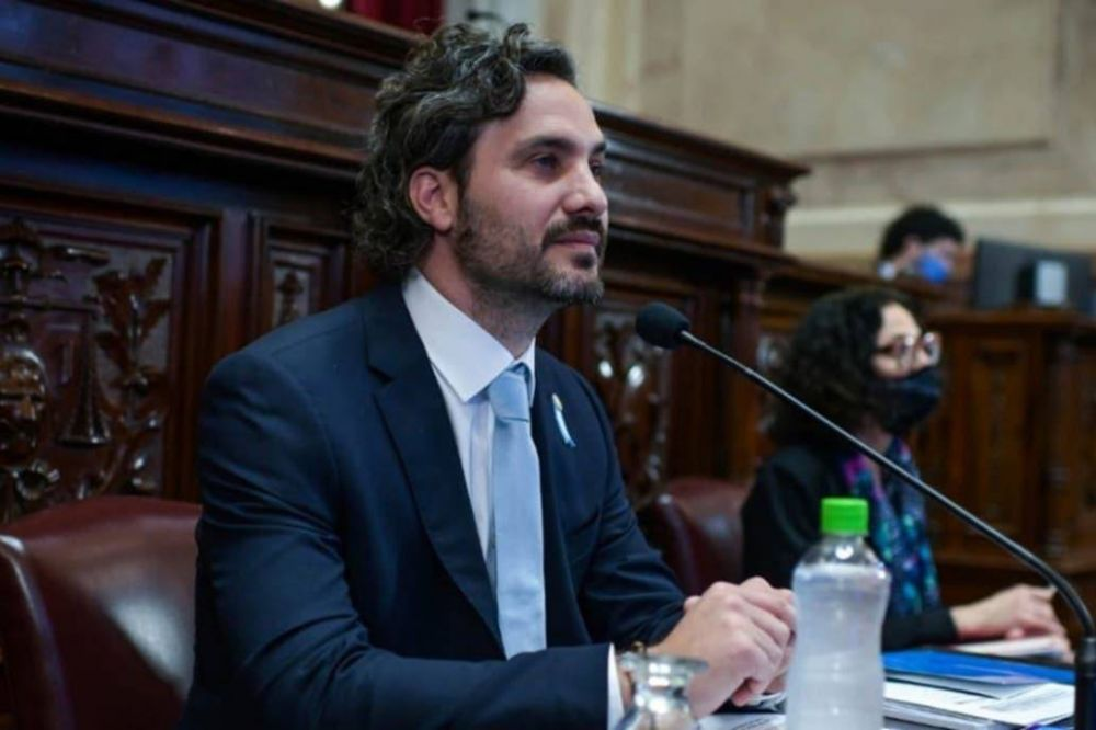 Santiago Cafiero en el Senado: un debut con nervios que dejó muchas dudas