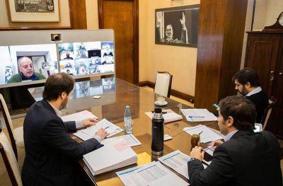 Kicillof oficializó la asistencia financiera a Mar del Plata por $ 100 millones