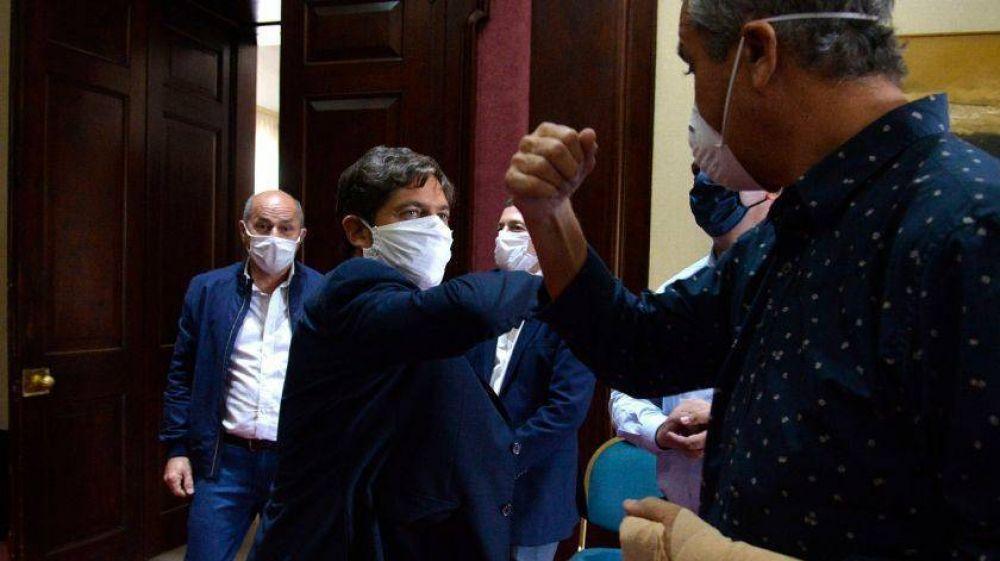 Cuarentena estricta: intendentes del GBA apoyaron a Kicillof en su pelea con Larreta