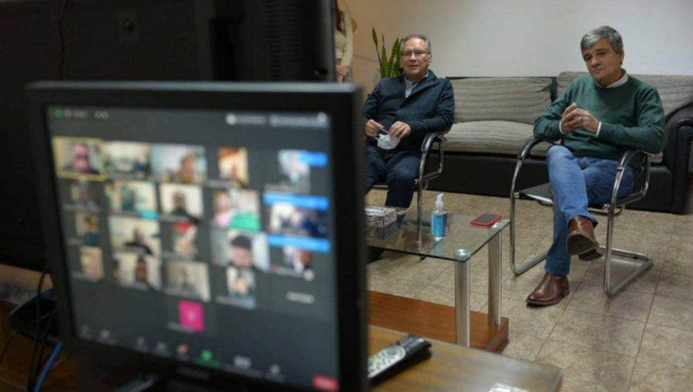Respaldo de Intendentes del conurbano a las medidas de Kicillof ante la pandemia