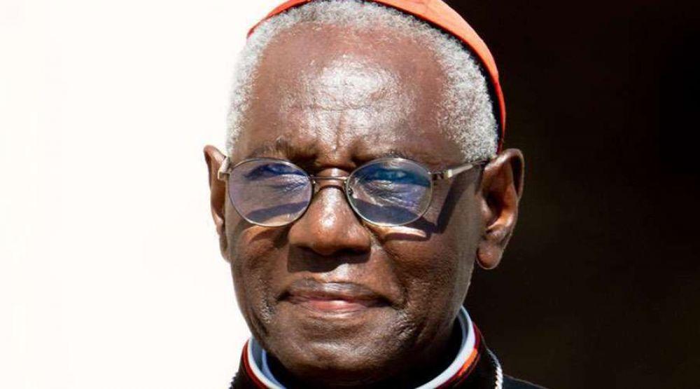 Papa Francisco no aceptó renuncia del Cardenal Sarah