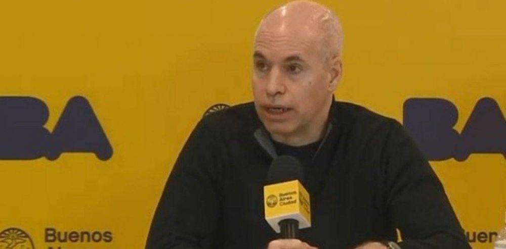 Horacio Rodríguez Larreta confirmó que no tiene coronavirus y va a La Plata para reunirse con Axel Kicillof